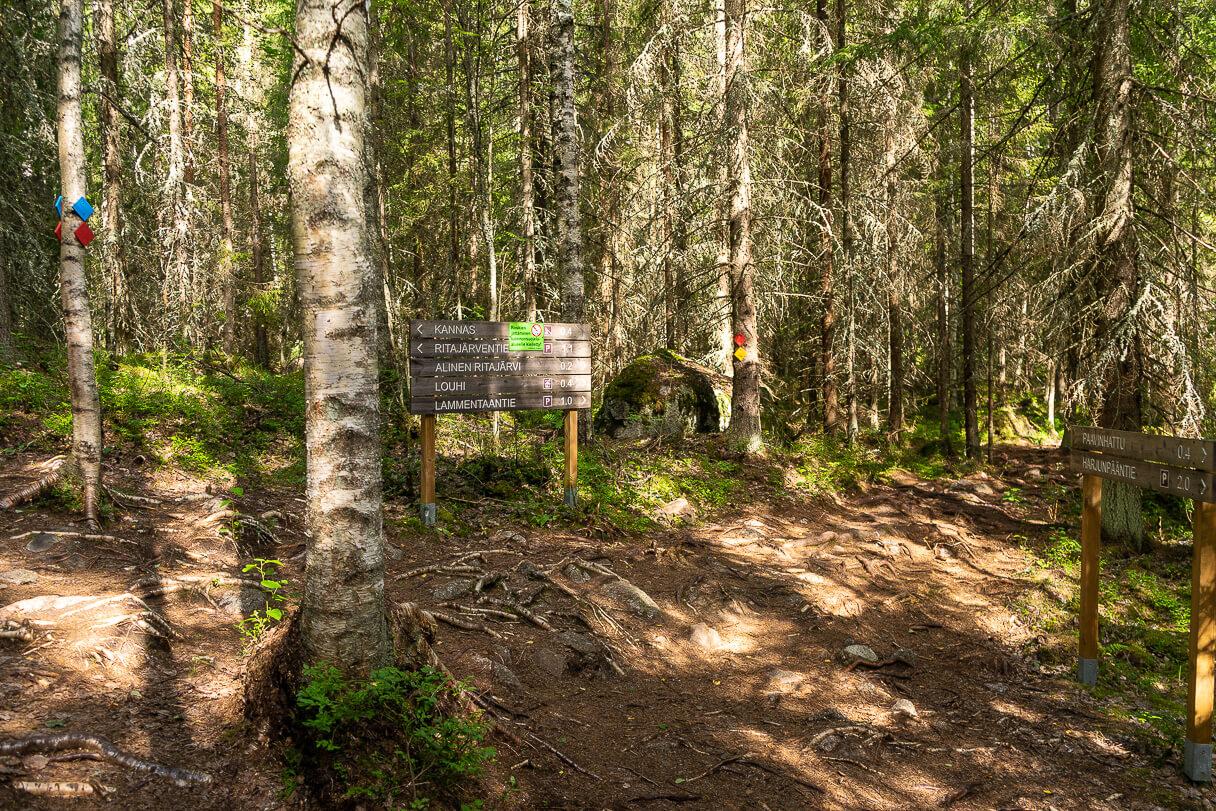 Ylinen Ritajärvi, Ritajärven luonnonsuojelualue, Sastamala
