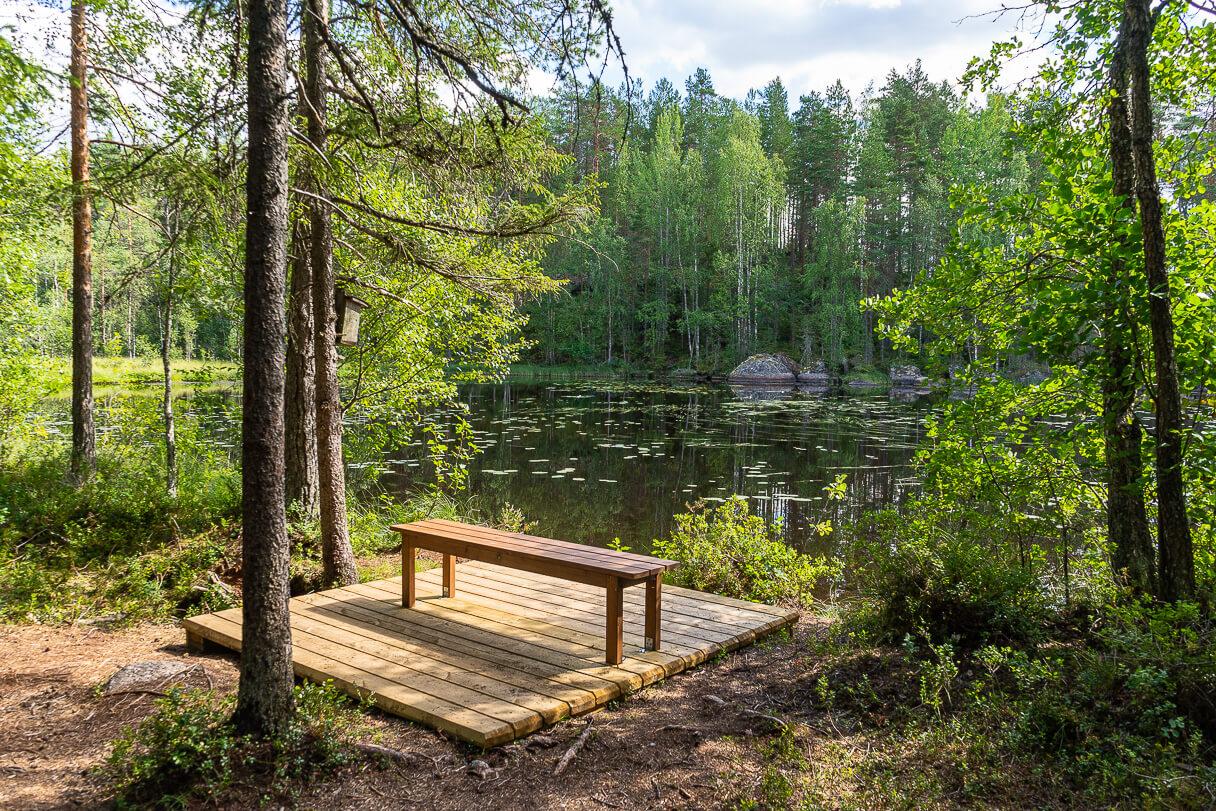Taukopaikka, Ritajärven luonnonsuojelualue, Sastamala