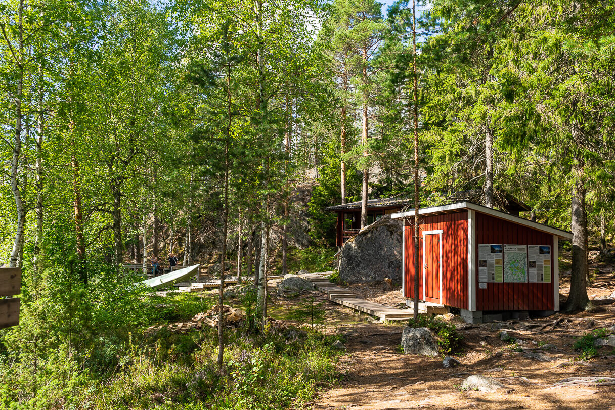 Louhen taukopaikka, Alinen Ritajärvi