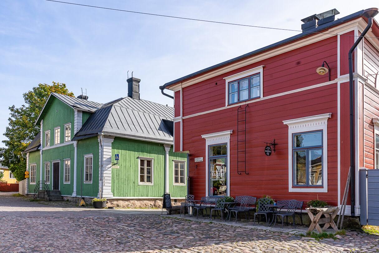 Kirkkotori, Tuorilan Leipomo, Vanha Porvoo