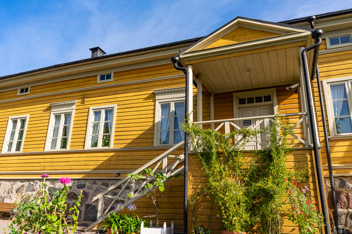 Runebergin kotimuseo Porvoossa