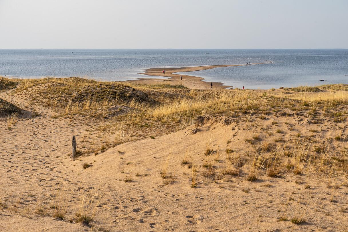 Kalajoen hiekkkasärkät syksyllä 2020