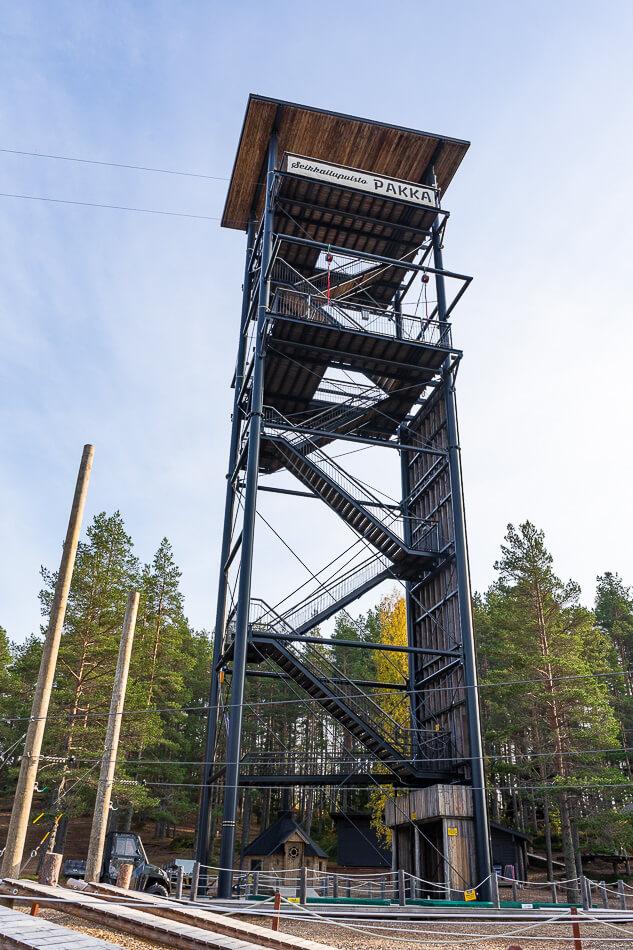 Seikkailupuisto Pakka, Kalajoki