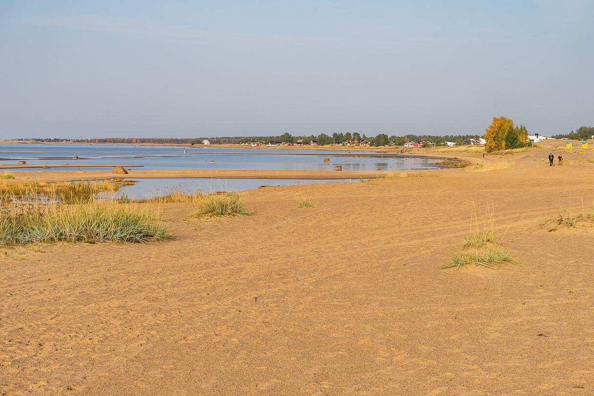 Kalajoen hiekkasärkät syksyllä