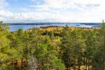 Kangasalan Haralanharjun ja Kirkkoharjun näkötornit syksyllä