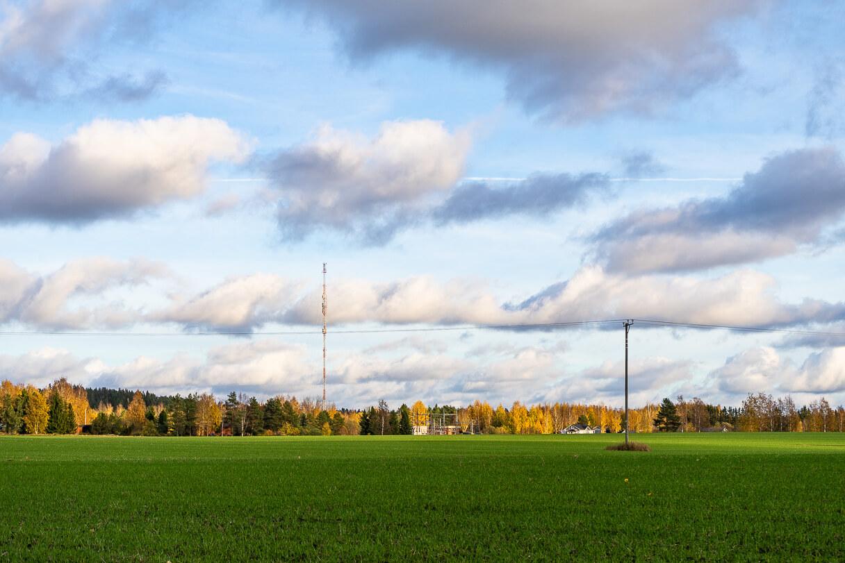 Maalaismaisema itää kohti, Kirkkojärven luontopolku, Kangasala