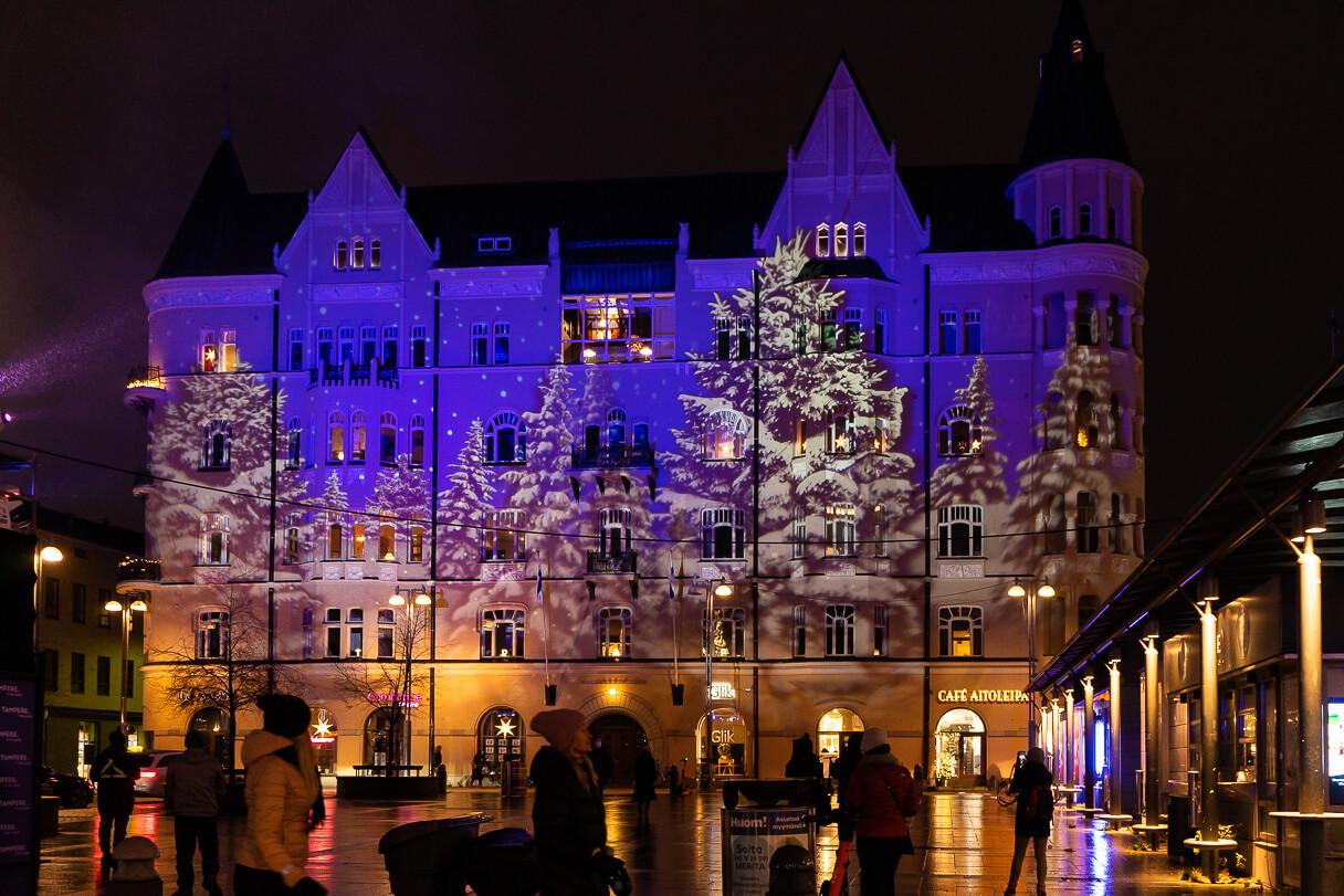 Tampereen jouluvalot 2020