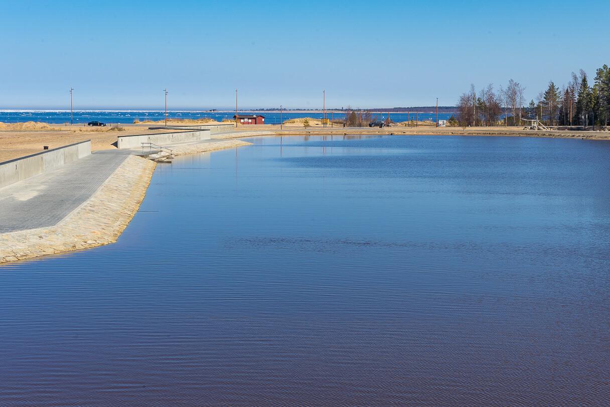 Marinan portti, Kalajoen hiekkasärkät