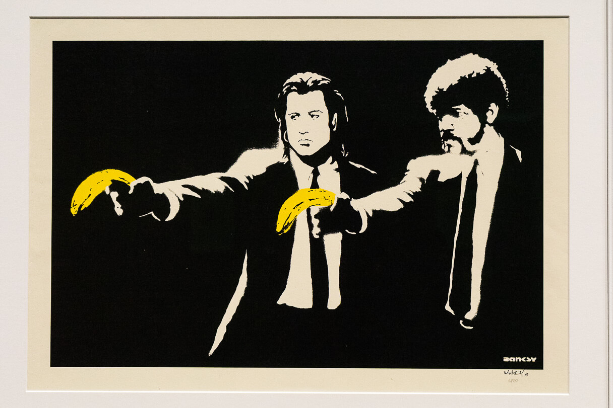 Banksy: Pulp Fiction.