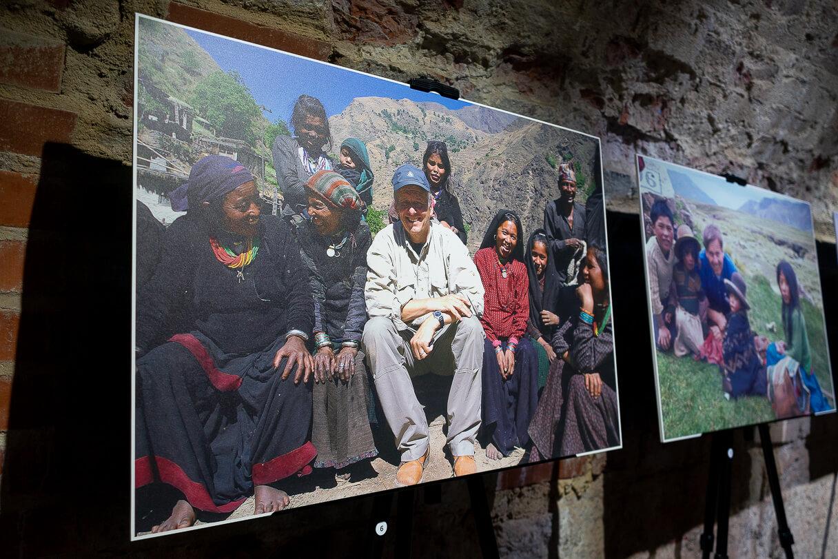 Rauli Virtasen valokuvanäyttely Hamina Bastionissa.