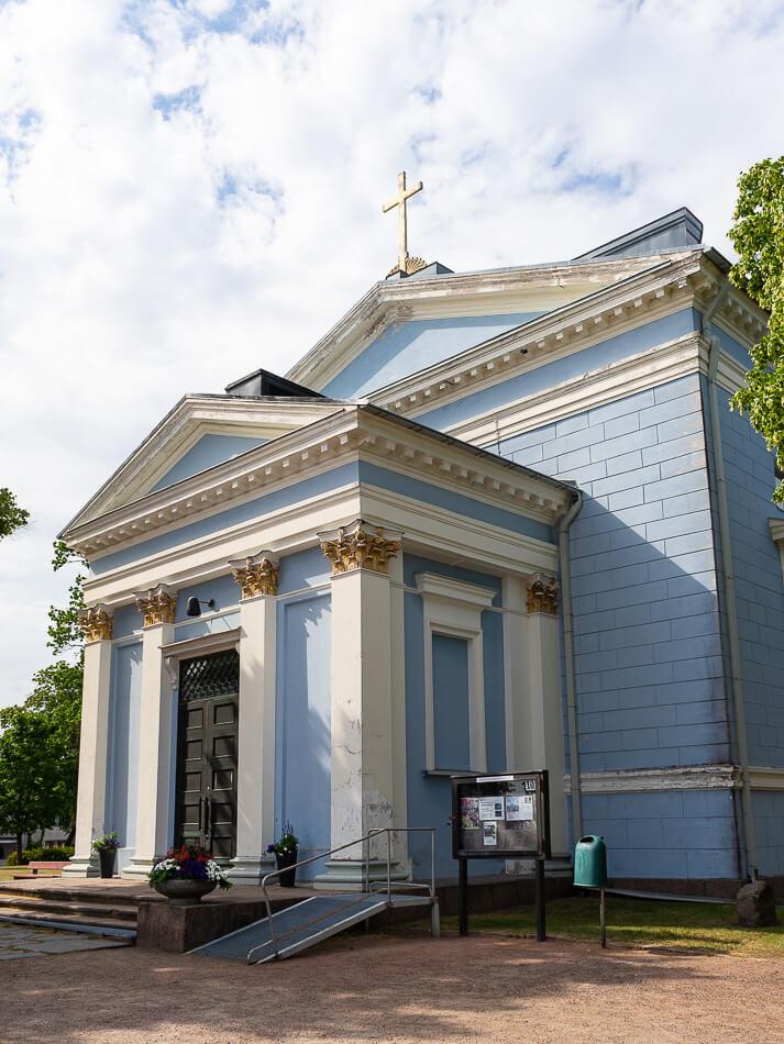 Haminan Johanneksen kirkko.